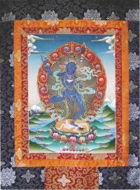 Cartão Khandro Gyuma Chenmo ( Deusa Yoga do Sonho)