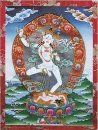 Cartão Khandro Selje Dö Drelma (Deusa Yoga do Sono)