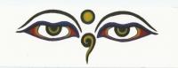 Adesivo Olhos de Buda