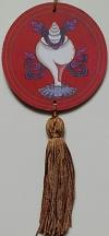 Mandala para Decoração Símbolos Auspiciosos - Concha