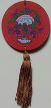 Mandala para Decoração Símbolos Auspiciosos - Flor de Lótus
