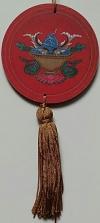 Mandala para Decoração Símbolos Auspiciosos - Peixes