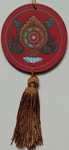 Mandala para Decoração Símbolos Auspiciosos - Roda
